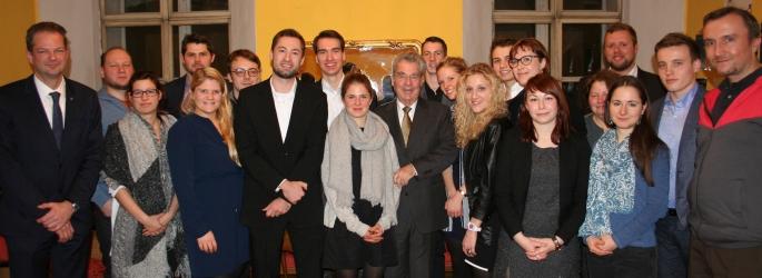 Altbundespräsident Dr. Heinz FISCHER zu Gast