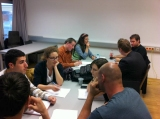 Debatte an der Universität Klagenfurt