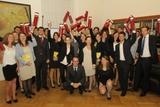 Diplomverleihung in der Hofburg