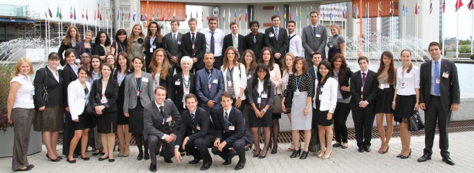 Annual Highlight in August: The Vienna International Model United Nations (VIMUN)