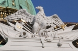 Eagle at the Imperial Palace Vienna